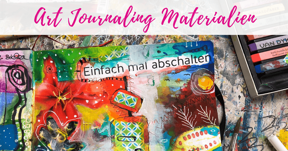My material tips for art journaling
