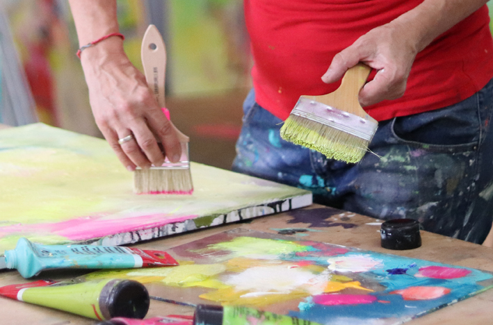 Paint sustainably