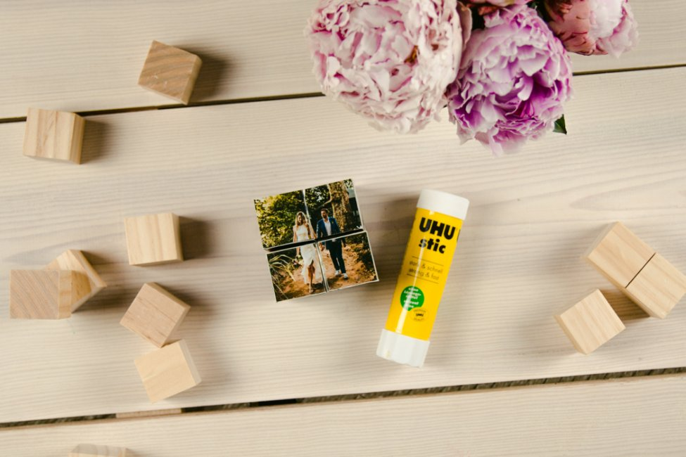 MAKE YOUR OWN DIY PHOTO CUBES – DIY GIFT IDEA